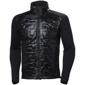 Men's Helly Hansen Lifaloft Hybrid Insulator Jacket, Adult, Size: M (33.5), Black