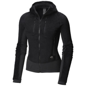 Mountain Hardwear Monkey Woman™ Grid Hooded Jacket - Fleece-Oberteile