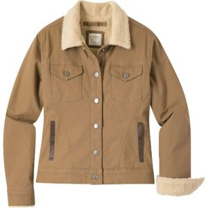 Mountain Khakis Women's Ranch Shearling Jacket - Small - Tobacco