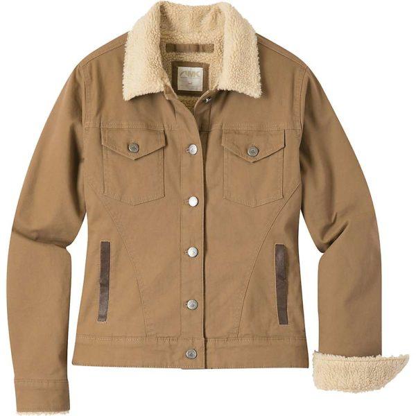 Mountain Khakis Women's Ranch Shearling Jacket - Small - Tobacco
