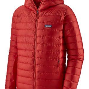 Patagonia Down Sweater Hoody Jacket punainen