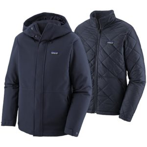 Patagonia Lone Mountain 3-in-1 Jacket bleu