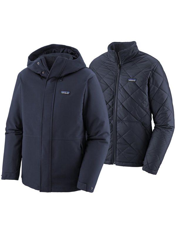 Patagonia Lone Mountain 3-in-1 Jacket bleu