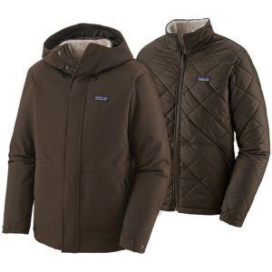 Patagonia Lone Mountain 3-in-1 Jacket bruin