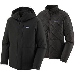 Patagonia Lone Mountain 3-in-1 Jacket musta