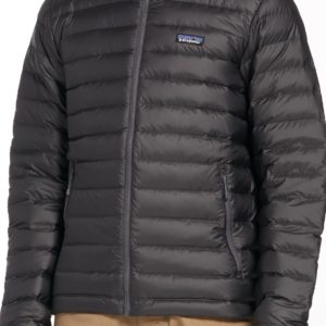 Patagonia Men's Down Sweater Jacket, Size: Large, Forge Grey/Forge Grey
