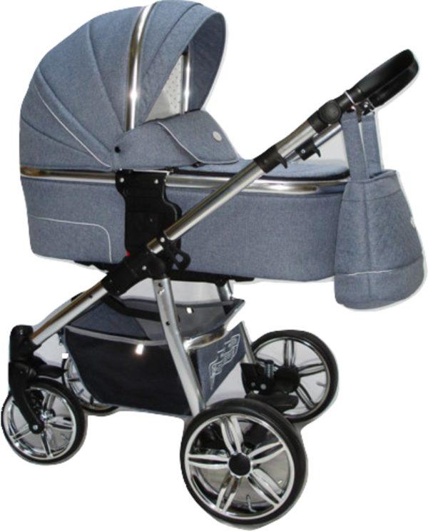 P'tit Chou Verona Kinderwagen-Buggy-Autostoel Stof - Jeans